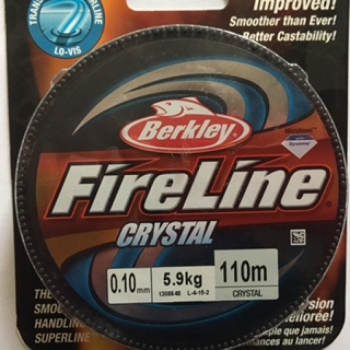 Fireline - 0,10mm 110 Meter - Crystal